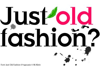 JustOldFashion