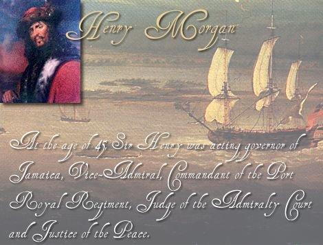 Henry Morgan Pirate
